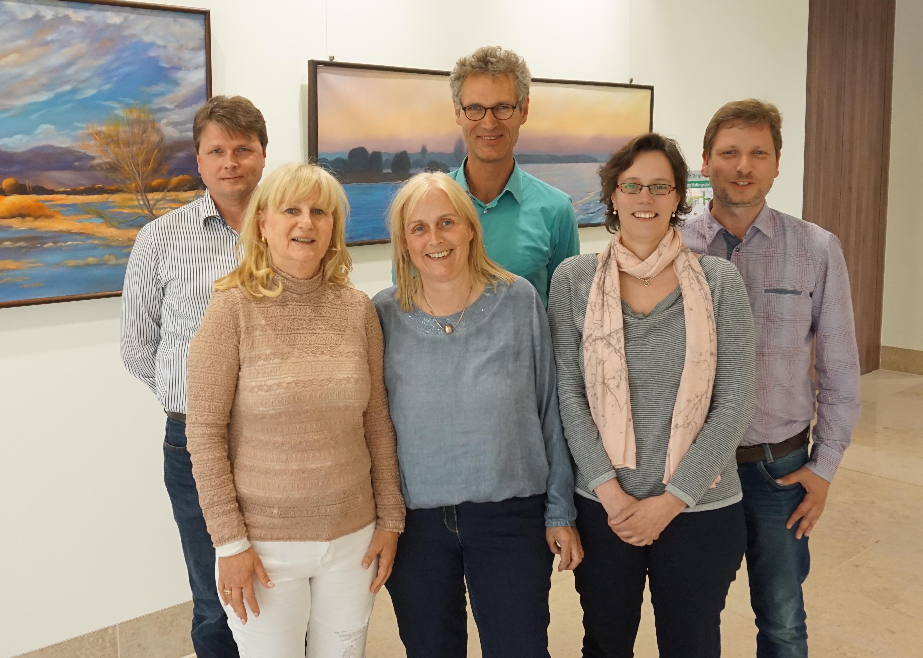 Dr. med. Gunnar Haufe, Dipl.-Med. Astrid Tributh (stellv. Vors.), Dr. med. Karin Harre (Vors.), Dr. med. Musche-Ambrosius,  Miriam Schwantes, Dr. med. Roßbach-Kurschat